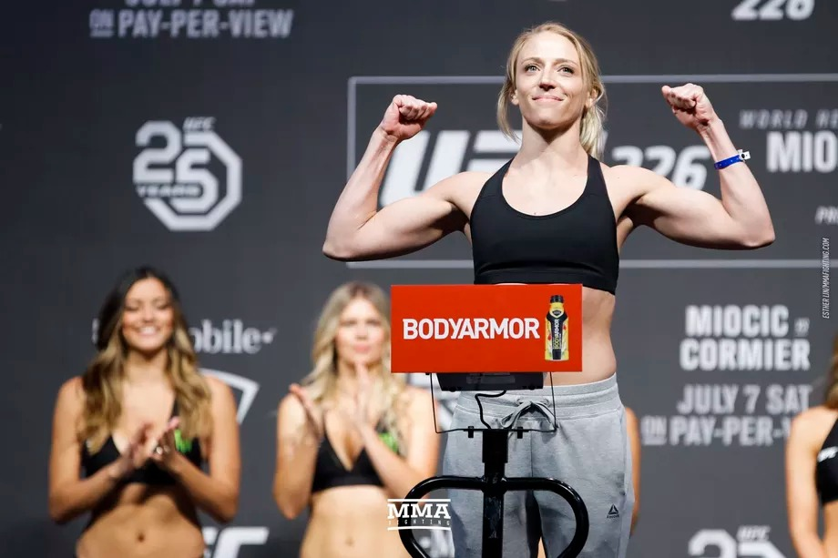 Emily Whitmire scratched from UFC Vegas 20, replacement sought
